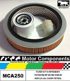MITSUBISHI TRITON ME MF MG MH 4G54 2.6 Litre PETROL CARBY 10/86-96 FILTER KIT