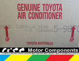 TA448005-9870 AIRCON KIT Corolla SEDAN & HATCH BACK ZRE152 3/07 on GENUINE