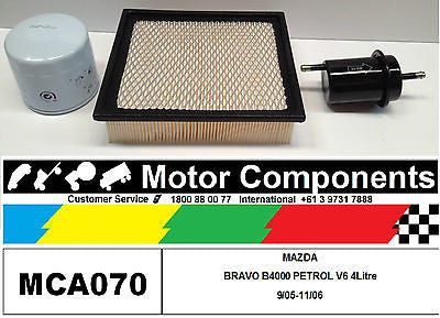 FILTER SERVICE KIT Mazda B4000 BRAVO Ford COURIER PH 4WD V6 4.0L  2/2005-11/2006