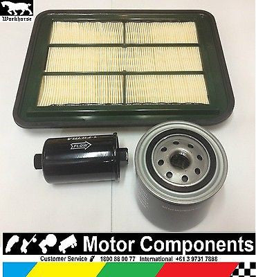 FILTER SERVICE KIT Oil Air Fuel FORD BA FALCON 5.4 Litre V8 PETROL 9/02 to 9/05