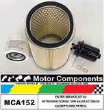 MITSUBISHI CORDIA GSR 4G62BT 5/1984 > 1989 FILTER SERVICE KIT Air Oil Fuel