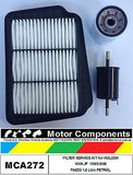 FILTER Service Kit for HOLDEN VIVA JF FA8D3 1.8 L PETROL 10/05-5/09