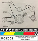 HOLDEN COMMODORE VTII VX VY VZ METAL PULLEY UPGRADE KIT for 5.7 Litre V8 GEN III