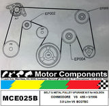 HOLDEN COMMODORE VS METAL PULLEY UPGRADE KIT for 3.8L V6 ECOTEC 4/1995 > 5/1996