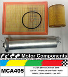 FILTER SERVICE KIT Oil Air Fuel for BMW 320i E46 M54B22 2.2L 330 E46 525i M54B30