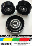 HOLDEN COMMODORE VSII VT VX VY METAL PULLEY UPGRADE KIT for ECOTEC 3.8 Litre V6