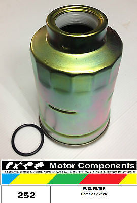 252 GUD DIESEL FUEL FILTER same as Z252X RYCO Z252