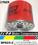 FUEL FILTER DIESEL BALDWIN BF825 same as FLEETGUARD FF167 RYCO R2132P 7111-296