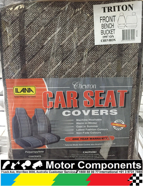 Seat Cover for Mitsubishi Triton SINGLE CAB 2006 on (Bucket & 3/4 Bench)