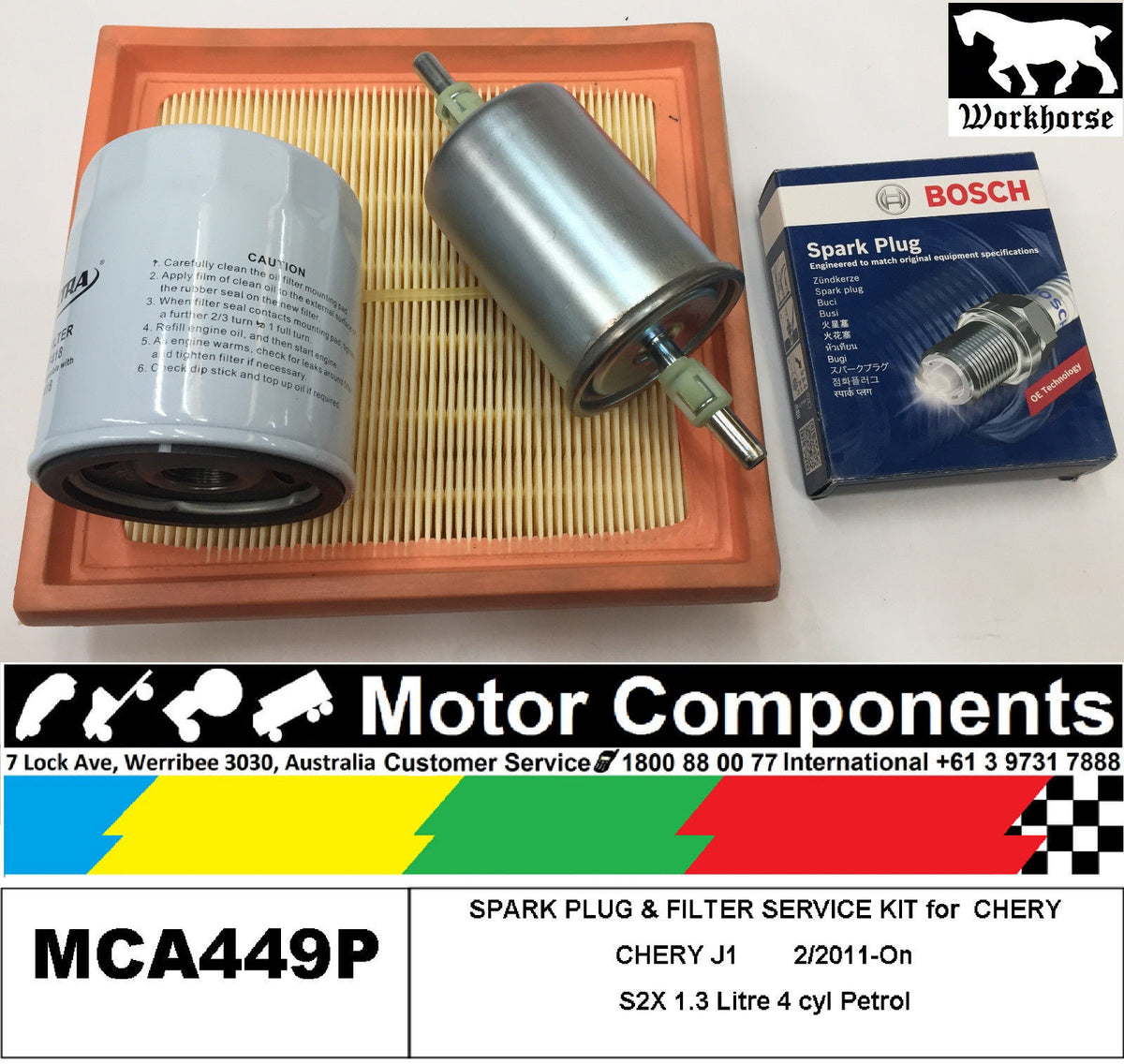 Chery – Motor Components