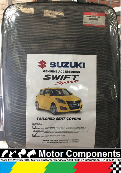 Seat Cover REAR for SUZUKI SWIFT SPORT 2009 to current