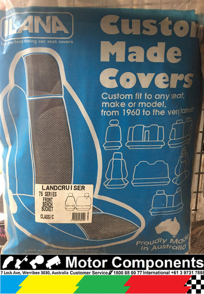 SEAT COVER for TOYOTA LANDCRUISER 75 SERIES