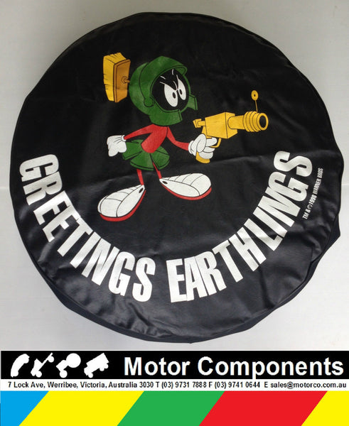 SPARE WHEEL COVER 29 INCH MARVIN THE MARTIAN GENUINE WARNER BROS