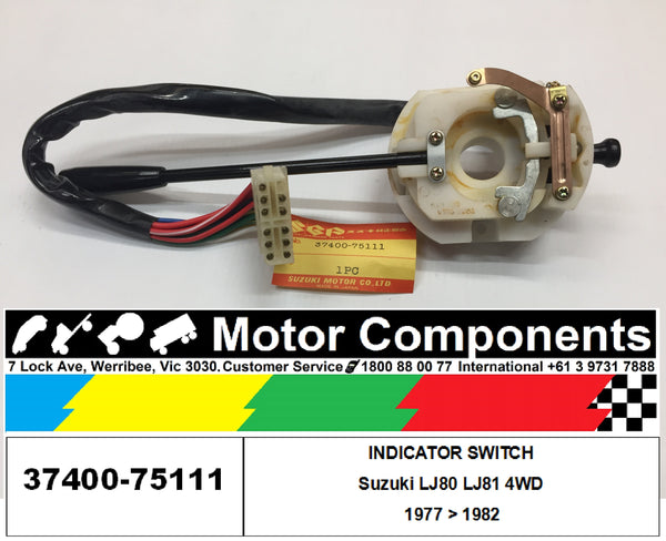INDICATOR SWITCH with HAZARD SWITCH for SUZUKI LJ80 LJ81 1977 > 1982