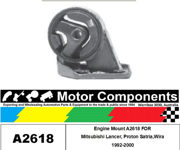 Engine Mount A2618 FOR Mitsubishi Lancer, Proton Satria,Wira 1992-2000