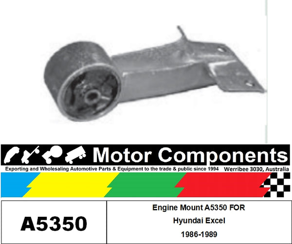 Engine Mount A5350 FOR Hyundai Excel 1986-1989