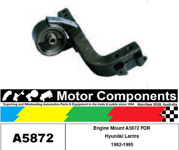 Engine Mount A5872 FOR Hyundai Lantra 1992-1995