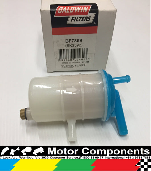 BF7859	Inline Fuel Filter with drain 17670-ZG3-901  HONDA 6213-200-0021-0 / A