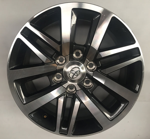 WHEEL RIM ALLOY GENUINE TOYOTA HILUX SR5 4WD 2017 18