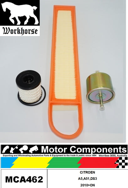 FILTER SERVICE KIT for CITROEN A5,A51,DS3 2010>ON