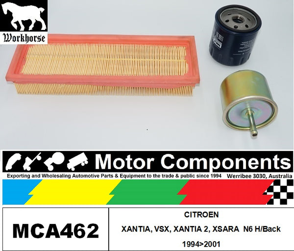 FILTER SERVICE KIT for CITROEN XANTIA, VSX, XANTIA 2, XSARA  N6 H/Back 1994>2001