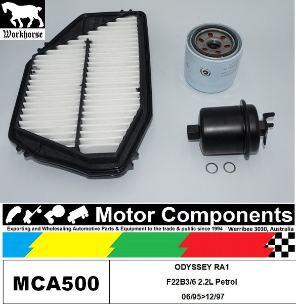 FILTER SERVICE KIT for Honda ODYSSEY RA1 F22B3/6 2.2L Petrol 06/95>12/97