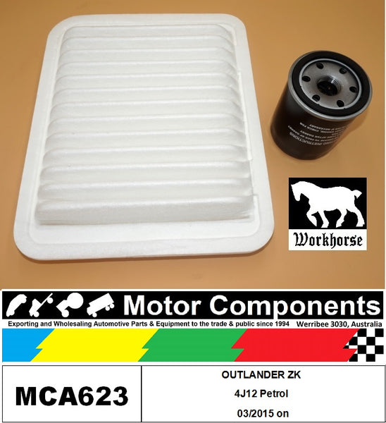 FILTER SERVICE KIT for MITSUBISHI  OUTLANDER ZK 4J12 Petrol 03/2015 on