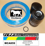 FILTER SERVICE KIT FOR TOYOTA TOWNACE CR30,36,37 2C-T 2L TD 10/85>08/87