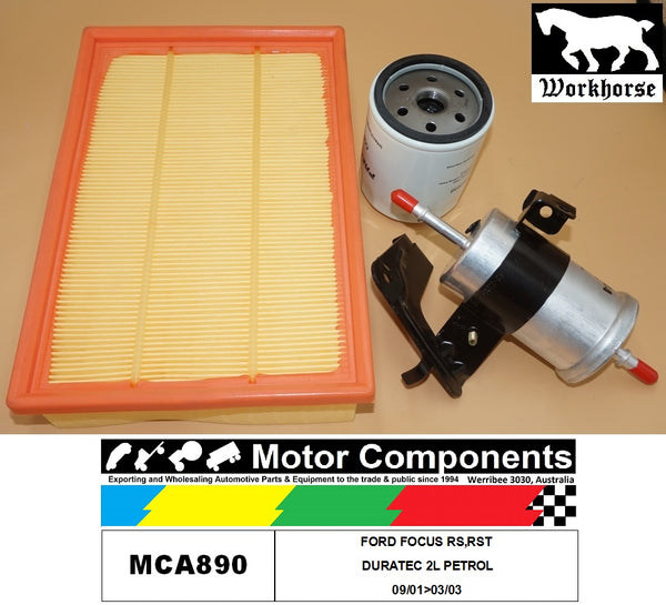 SERVICE KIT FOR FORD FOCUS RS,RST DURATEC 2L PETROL 09/01>03/03