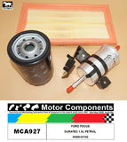 SERVICE KIT FOR FORD FOCUS DURATEC 1.6L PETROL 09/98>07/02