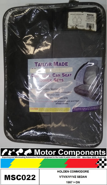 SEATCOVER TO SUIT HOLDEN COMMODORE VT/VX/VY/VZ SEDAN 1997 > ON