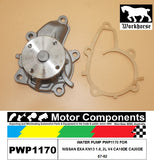 WATER PUMP PWP1170 FOR NISSAN EXA KN13 1.8, 2L V4 CA18DE CA20DE 87-92