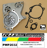 WATER PUMP PWP2032 FOR FORD COURIER SGHE 2 / 2.2L V4 FE F2 87-95