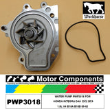 WATER PUMP PWP3018 FOR  HONDA INTEGRA DA9  DC2 DC9 1.8L V4 B18A B18B 89-92