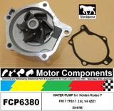 WATER PUMP FCP6380 for  Holden Rodeo TFR17 TFS17  2.6L V4 4ZE1 88-6/98