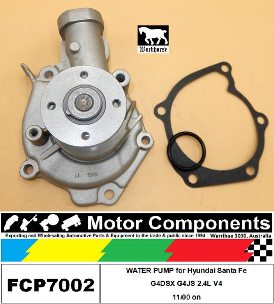 WATER PUMP FCP7002 for Hyundai Santa Fe G4DSX G4JS 2.4L V4 11/00 on