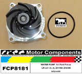 WATER PUMP FCP8181 for Ford  FOCUS LR LS 1.8, 2L ZH18M, ZH20M 9/02-4/05