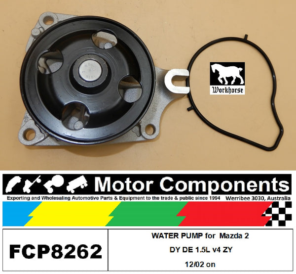 WATER PUMP FCP8262 for  Mazda 2 DY DE 1.5L v4 ZY 12/02 on