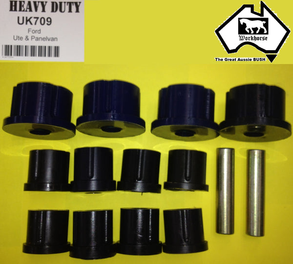 SPRING SHACKLE BUSH KIT for FORD UTE PANEL VAN UP TO 1996