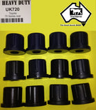 SUSPENSION BUSH KIT REAR for TOYOTA LANDCRUISER HJ75 HZJ75 HDJ75 70 SERIES > 99