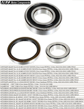 WHEEL BEARING KIT REAR for GALANT SIGMA LANCER SIGMA 1974 >1980