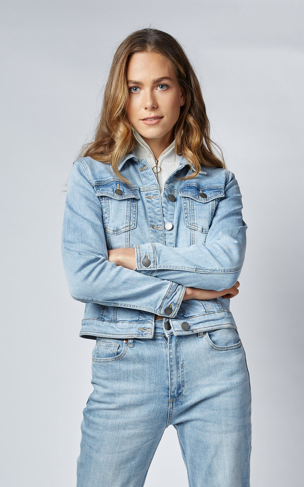 DITA COMFORT STRETCH DENIM JACKET