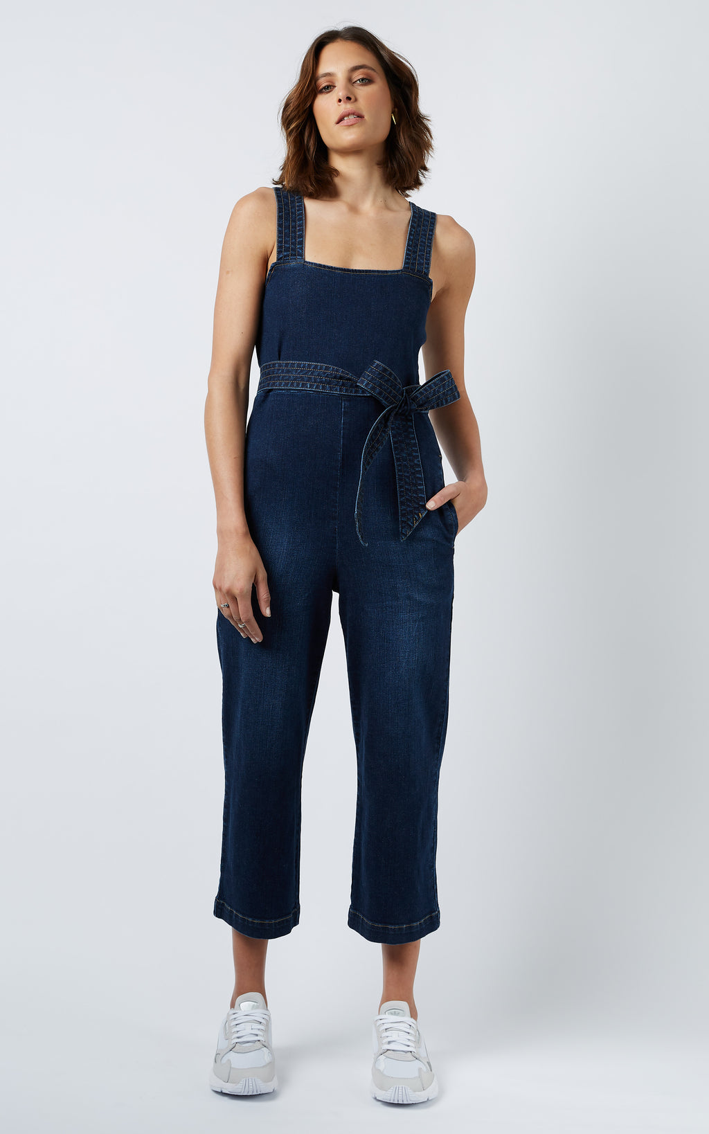 WALKER DENIM JUMPSUIT