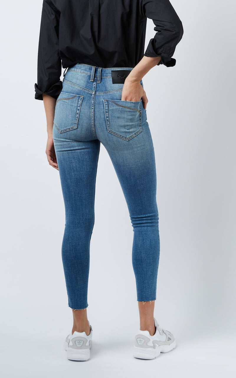 DCD HIGH WORN JEANS