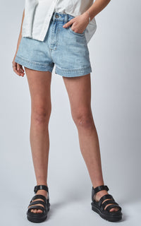 BELL HIGH WAISTED SUN BLEACHED SHORTS