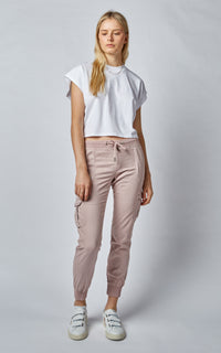 CARGO PINK CLAY PANTS
