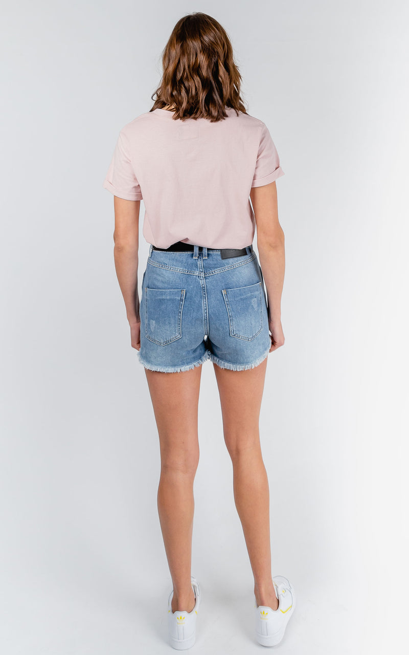 TATIANA HIGH WAISTED ROCK STEADY SHORTS