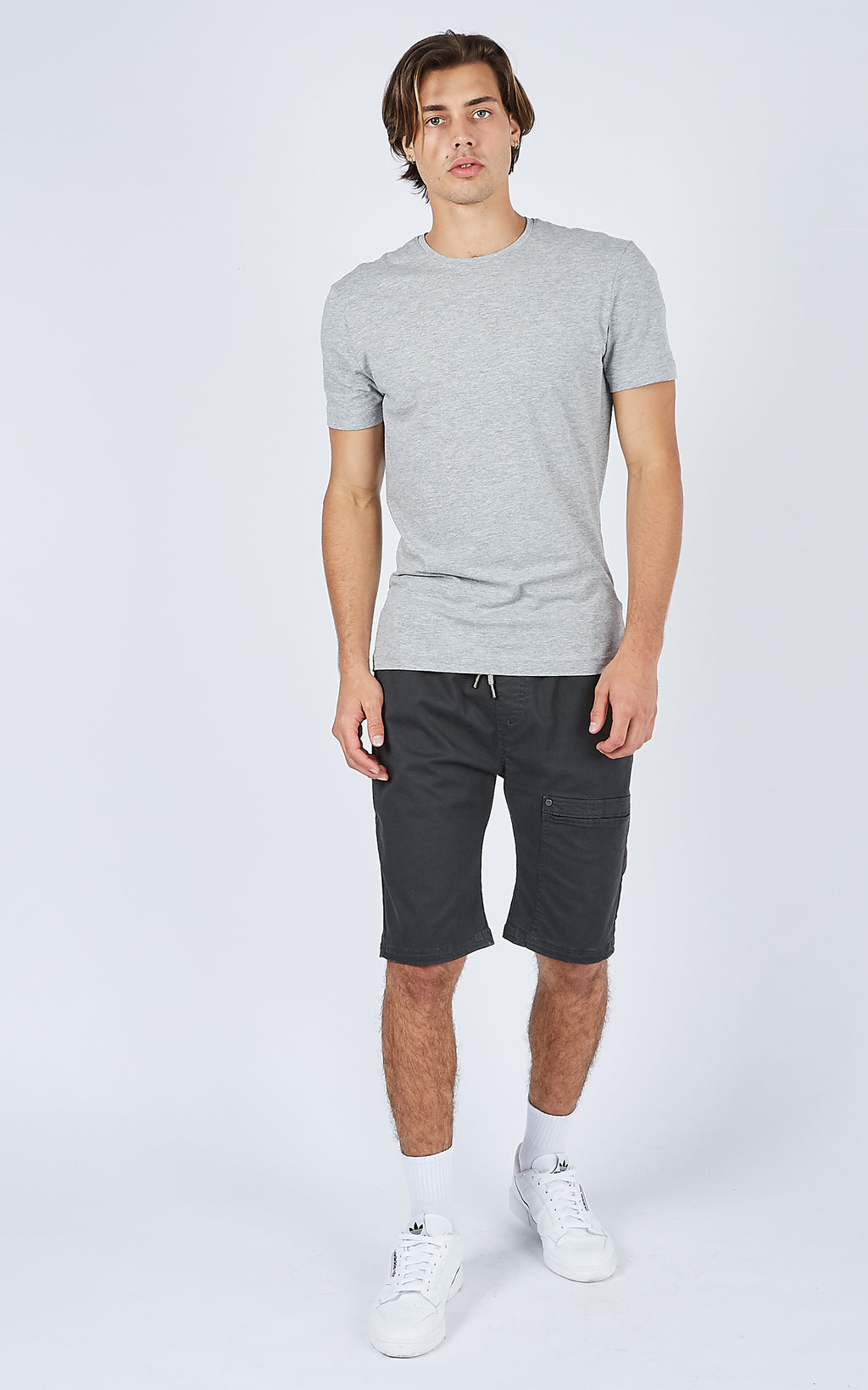 CARGO CHARCOAL SHORTS
