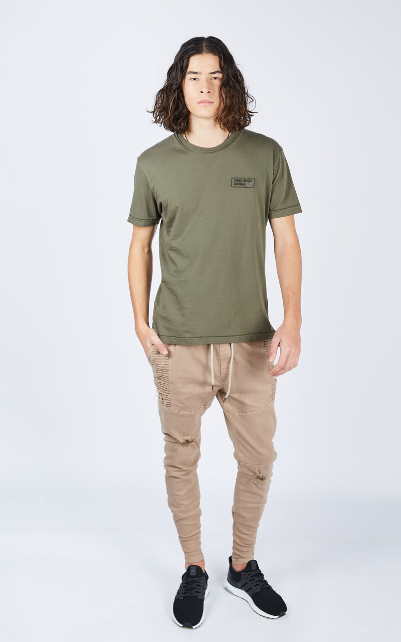 COOPER ARMY GREEN TEE