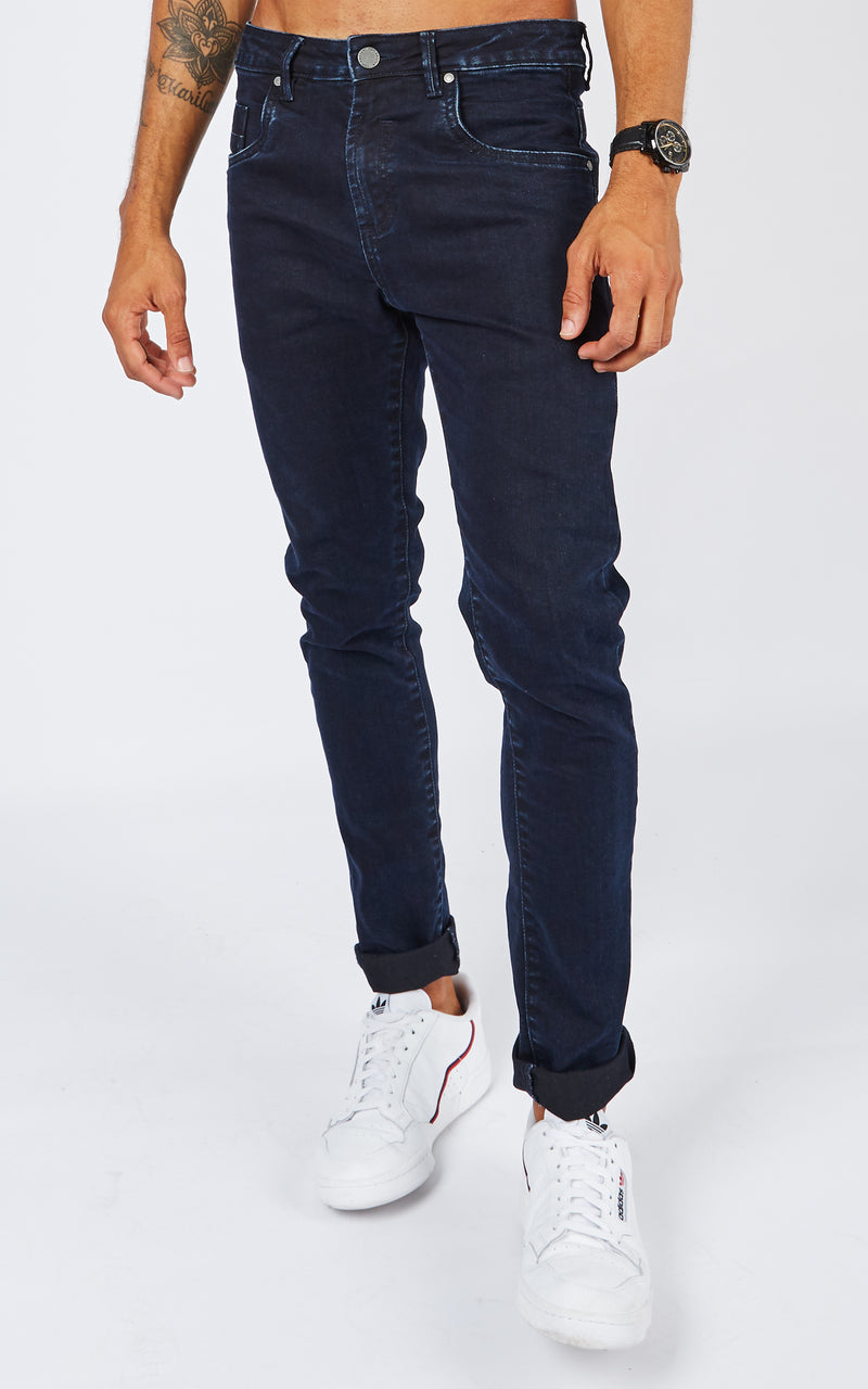 JASON BLUE BLACK JEANS